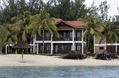 1 kurort Mauritius Obraz Stock