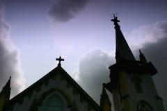 1 kyrka Royaltyfri Fotografi