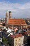1 kyrkliga frauenkirche munich för domkyrka Royaltyfri Fotografi
