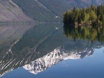 1 lake reflection Στοκ Εικόνα