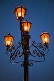 1 lamppost Стоковое Изображение RF