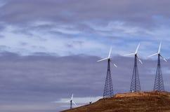 1 lantgård mal wind Royaltyfri Fotografi