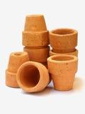 1 leratum krukar Fotografering för Bildbyråer