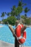 1 lifebuoy vermelho Imagem de Stock