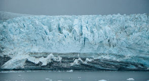 (1) lodowiec uroczysty Pacific Zdjęcia Royalty Free