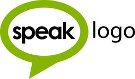 1 logo talar mallen Arkivfoto