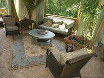 1 luksusów 6 patio Zdjęcie Royalty Free