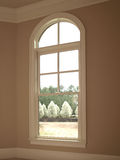 1 luksusu łękowatego pojedynczy okno Fotografia Royalty Free