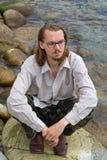 (1) mężczyzna morza potomstwa Zdjęcia Stock