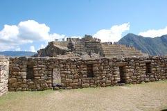 1 machu picchu废墟 免版税库存图片