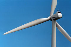 1 mal wind Arkivbilder