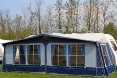 (1) markizy namiotowa przyczepy podróż Obraz Stock
