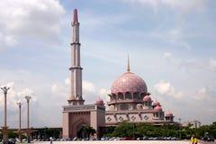 1 masjid putrajaya arkivfoto
