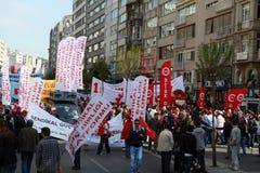 1 MEI IN ISTANBOEL Stock Foto