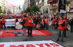 1 MEI IN ISTANBOEL Royalty-vrije Stock Afbeeldingen