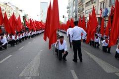 1 MEI IN ISTANBOEL Royalty-vrije Stock Foto