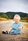 1 menino dos anos de idade Imagens de Stock