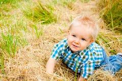1 menino dos anos de idade Imagens de Stock Royalty Free