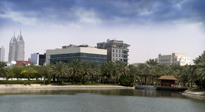 (1) miasta Dubai środków faza Obraz Stock