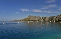 (1) miasta omis morza widok Zdjęcia Stock