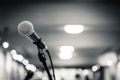 1 mikrofon Arkivbild