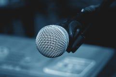 1 mikrofonu Zdjęcie Stock