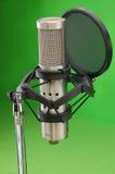 1 mikrofonu Obraz Stock