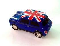 1 minibil Fotografering för Bildbyråer