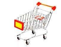 1 model shopping för vagn Royaltyfria Foton