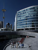 1 moderna arkitektur Arkivfoton