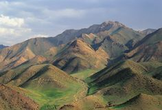 1 mongolian góry Zdjęcie Stock