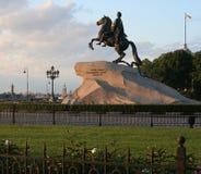 1 monument peter till Arkivbild