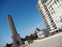 1 monumento Λα bandera Στοκ Φωτογραφίες
