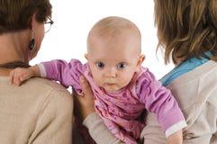 1 mormormor Fotografering för Bildbyråer