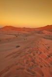 1 moroccan дюны пустыни Стоковые Изображения