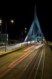 1 most zakim bostonu Obraz Stock