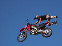1 moto x фристайла Стоковое Изображение RF