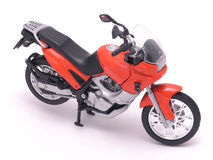 1 motorcykel Fotografering för Bildbyråer