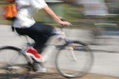 1 na rowerze Fotografia Stock