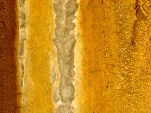 1 nedfläckada vägg för grungerost Arkivbild