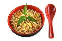 1 noodle σούπα Στοκ φωτογραφίες με δικαίωμα ελεύθερης χρήσης