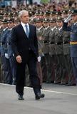 1 nya b observerar den tadic tjänstemanpresidentserben Royaltyfri Fotografi