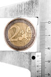 1 nya mynt Royaltyfri Bild