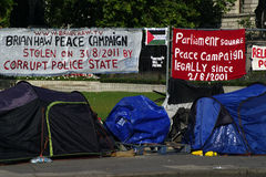 (1) obozowy parlamentu protesta kwadrat Fotografia Stock