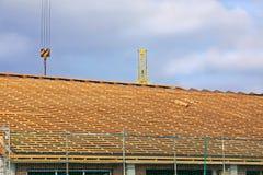 (1) obramiający dachowy szalunek Zdjęcia Stock