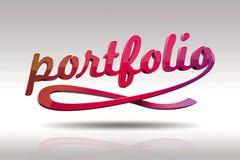 (1) okładkowy portfolio Zdjęcia Stock