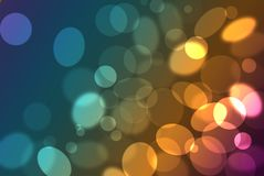 (1) okregów colour grupa Zdjęcie Stock
