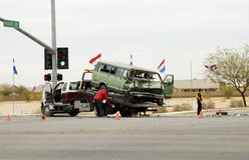 1 olycka gör upp ren Royaltyfri Fotografi