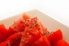 (1) oregano pomidory Zdjęcia Royalty Free