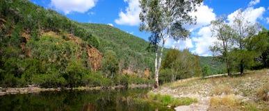 1 outback flodplats Arkivfoton